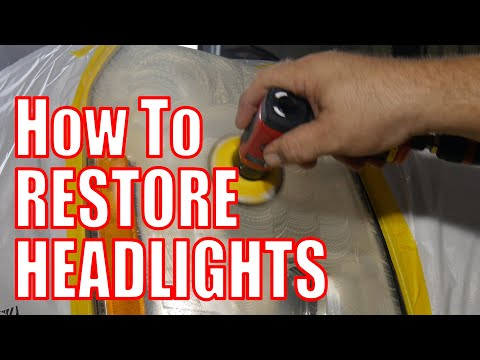 How To Restore Headlights with the Chicago Pneumatic Polish Kit