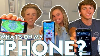 WHAT'S ON MY iPHONE? | *these apps you didn't expect!!*