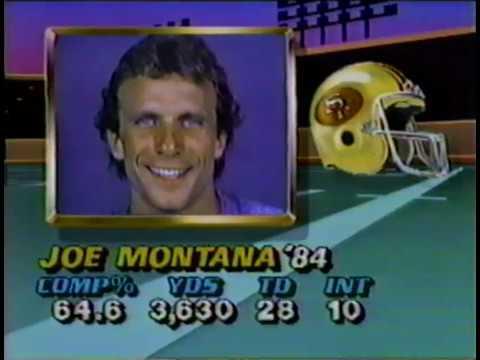 XIX Super Bowl San Francisco 49ers vs Miami Dolphins 1984 Season