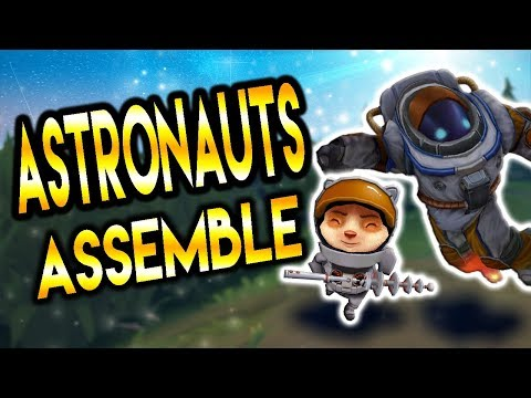 ASTRONAUTS ASSEMBLE! - Nautilus & Teemo Synergy - NEW Song!☄️ 👨🏻‍🚀