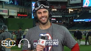 J.D. Martinez talks Red Sox Game 5 win, David Price's performance | SC with SVP