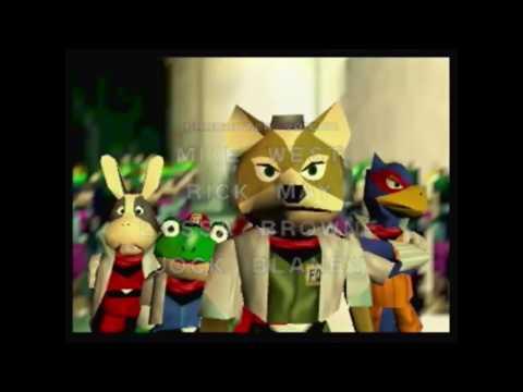 Star Fox 64 100% Speedrun (Reversed)