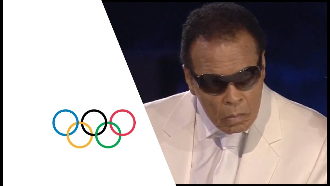 Muhammad Ali Makes A Special Appearance At The Opening Ceremony - London 2012 Olympics