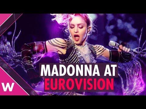 Madonna at Eurovision 2019 in Tel Aviv, Israel | Reaction Mp3