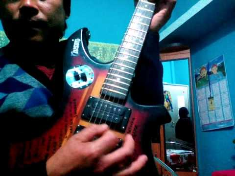 Sara sansar by mantra band guitar lesson - YouTube