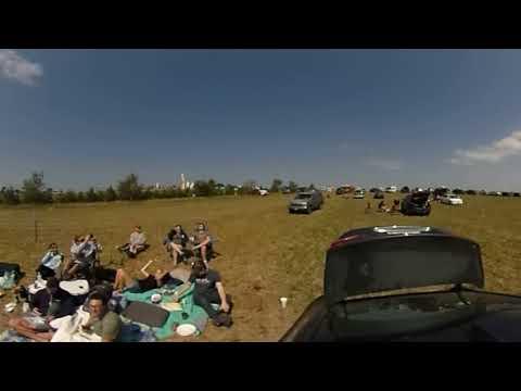 2017 Solar Eclipse at Carhenge in Alliance, NE