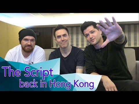 The Script back in Hong Kong