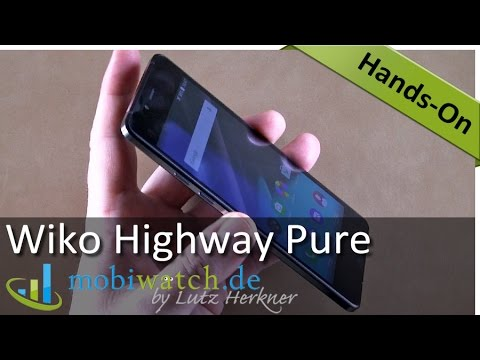 5,2 Millimeter: Das ultradünne Wiko Highway Pure im Video-Test – deutsch