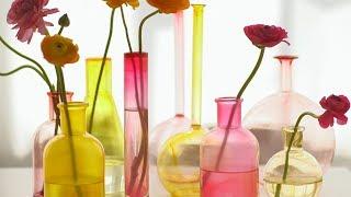 Painted Glass Vase - Martha Stewart