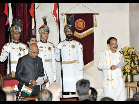 Swearing-In Ceremony of India's 13th Vice President Shri M.Venkaiah Naidu