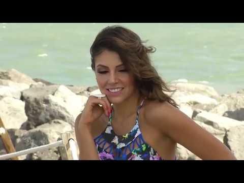 Camila Sanhueza - Sesión de fotos nueva colección bikinis Josefina Rocha en Miami