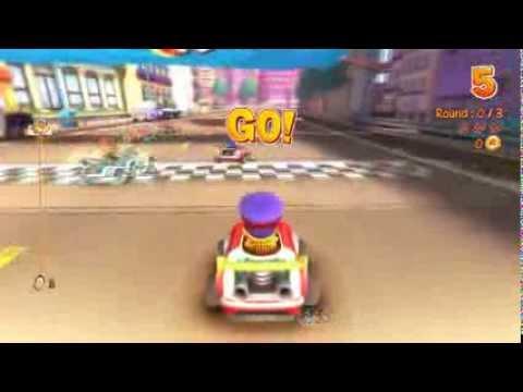 Garfield Kart Gameplay HD PC