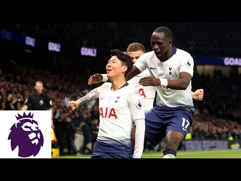 Heung-Min Son scores Tottenham's first goal in new stadium | Premier League | NBC Sports
