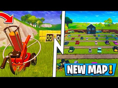 *ALL* Fortnite Update Changes! | New Map Add-Ons, Skeet Shooting Minigame ( 5.1 Birthday )