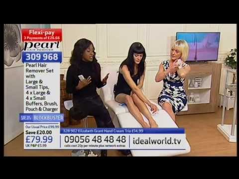 KAYKO ANDRIEUX ON IDEAL WORLD FOR PEARL HAIR REMOVER BLOCKBUSTER