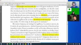 09 Studrondo pri Verkoj de Elpin | 안우생 에스페란토 문학작품 공부 (zoom)