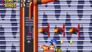 Sonic The Hedgehog 2-Wing Fortress Zone(Genesis Remastered)
