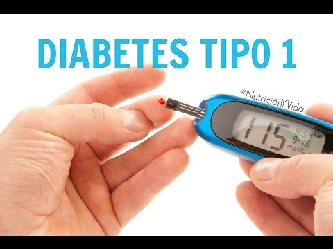 Diabetes tipo 1 -Nutrición y vida