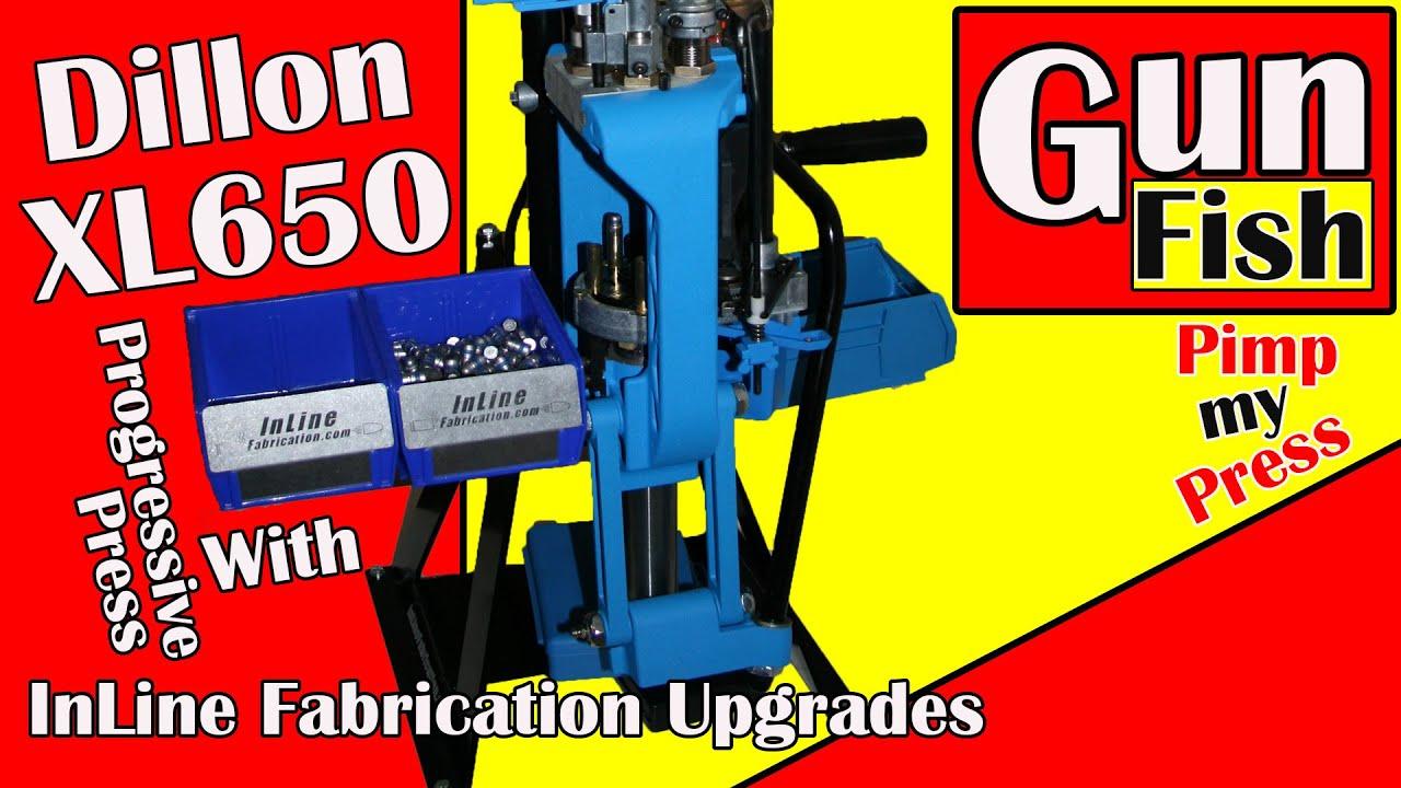 Dillon XL650 Progressive Press with Inline Fabrication upgrades