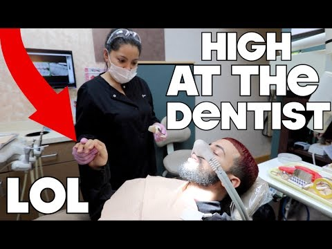 EXTREMELY HIGH AT THE DENTIST!!! FUNNIEST REACTION