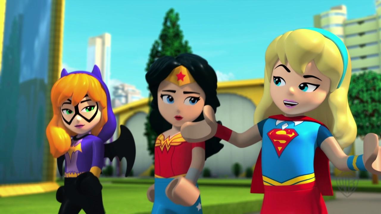 "LEGO DC Super Hero Girls: Brain Drain ""Teamwork"" Clip"