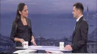 TRT TURK - Gumus Hilal Cenk Karaferya Interview Part 2
