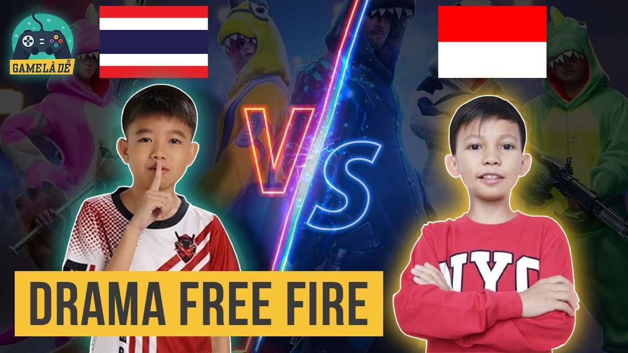 Download Drama Giữa Thần Đồng 12 Tuổi Thái Lan Và Thần Đồng 9 Tuổi Indonesia | Drama Free Fire