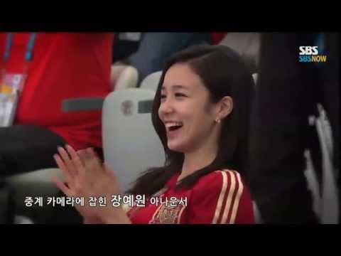 SBS [브라질월드컵] - 장예원, 스페인전 중계카메라에 노출된 소감
