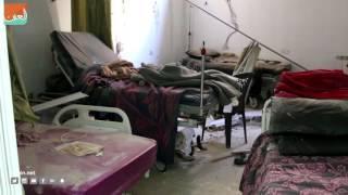 حول العالمسياسة  تعرض أكبر مستشفى في الأحياء الشرقية المحاصرة في مدينة حلب لقصف بالبراميل المتفجرة