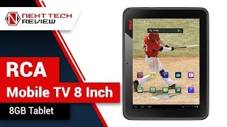 RCA Mobile TV 8 Inch 8GB Tablet DMT580DU Product Review  – NTR