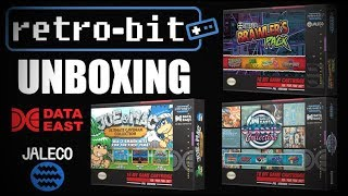 [UNBOXING] Retro-Bit - Joe & Mac Collection - Data East Collection & Jaleco Brawlers Pack