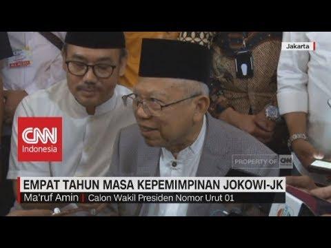 4 tahun Masa Kepemimpinan Jokowi-JK di Mata Ma'ruf Amin Mp3