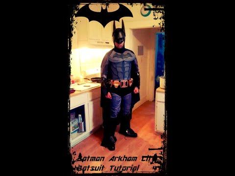 Batman Arkham Knight Batsuit Tutorial Paint, Cape and Suit Up
