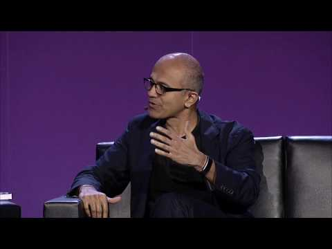 Intelligent agents, augmented reality & the future of productivity - Satya Nadella, CEO, Microsoft