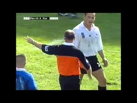 Paddy O'Brien abysmal refereeing costs Fiji vs France in 1999 RWC