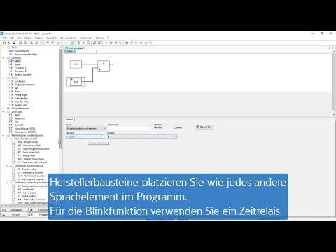 easySoft - Funktionsbausteinplan (FUP)