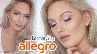 Makijaż rozświetlający kosmetykami z ALLEGRO