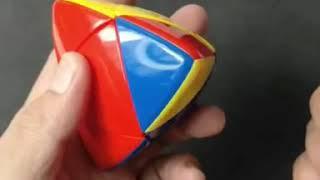 Tutorial on Zongzi Rubik's Cube popular problem.