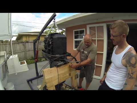 How to: Easy Outboard Motor Removal