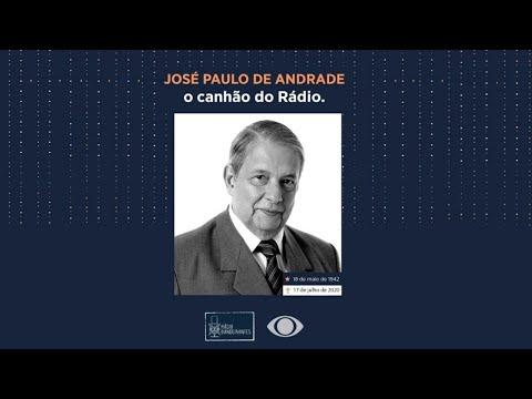 Homenagem da Rádio Bandeirantes ao jornalista José Paulo de Andrade