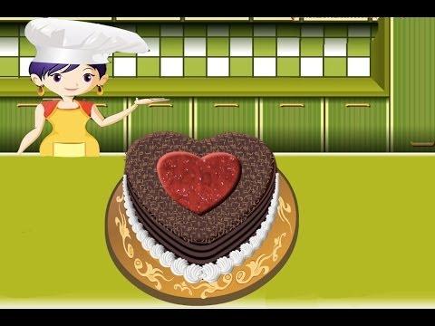 Pastel De La Selva Negra Juegos De Cocina Con Sara Youtube