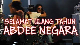 SLANK - Selamat Ulang Tahun Untuk Abdee Negara ke-50 [Live] @ Jakarta Fair 2019