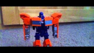 Transformers huffer stop motion test