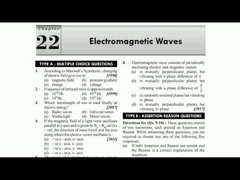 Jipmer physics questions and answers electromagnetic waves for medical  aspirants