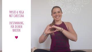 Physio & Yoga für einen entspannten Nacken - 15 min