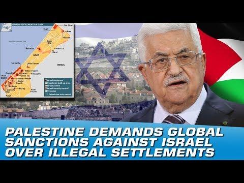 Palestine Demand Global Sanctions Against Israel Over Illegal Settlements | Indus News