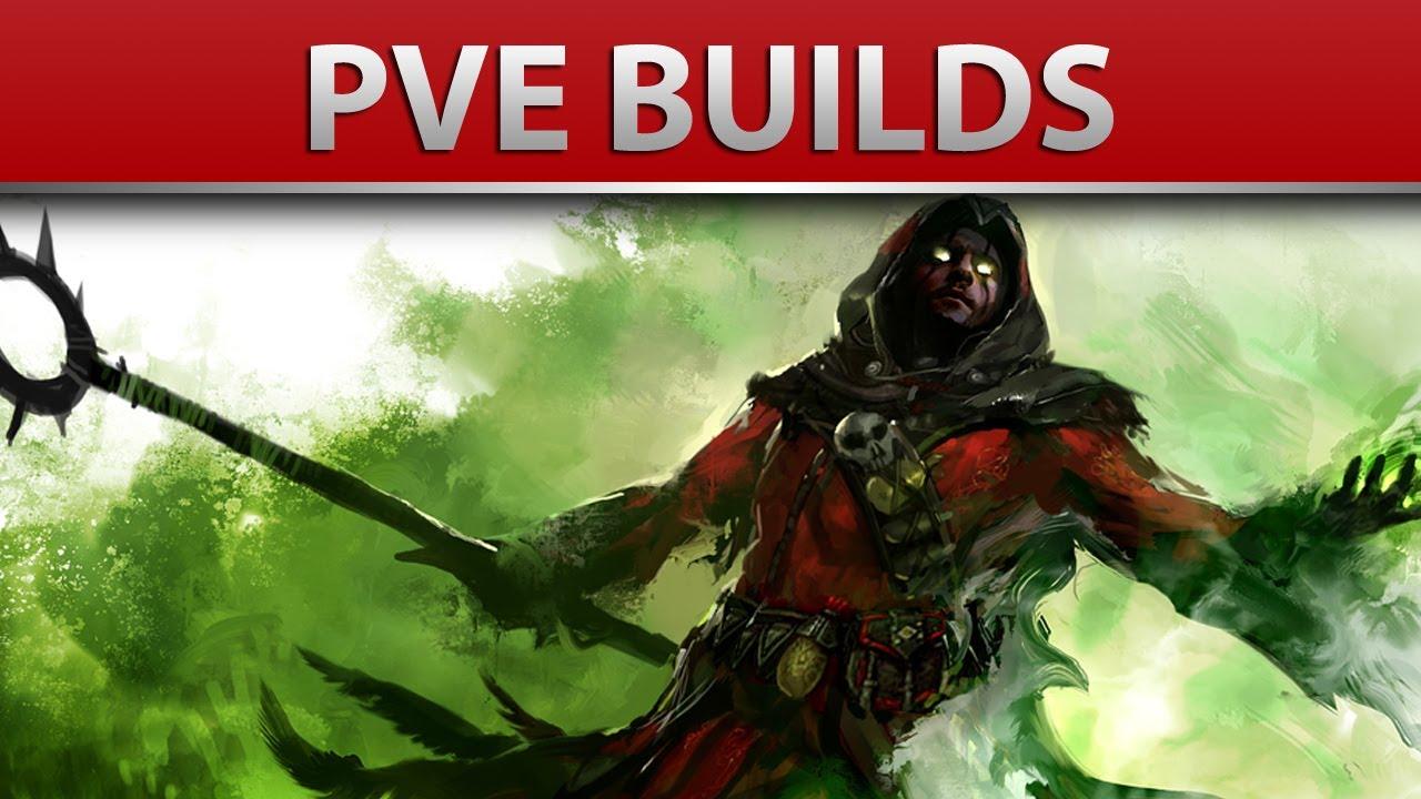 Guild Wars  Necromancer Build Pve