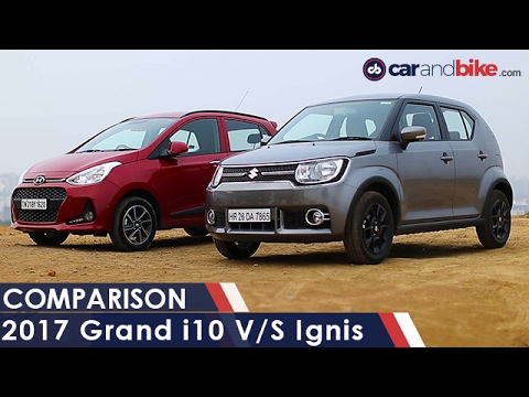 Hyundai Grand i10 Vs Maruti Suzuki Ignis - NDTV CarAndBike