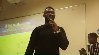 Stonebwoy Lectures At Ashesi University