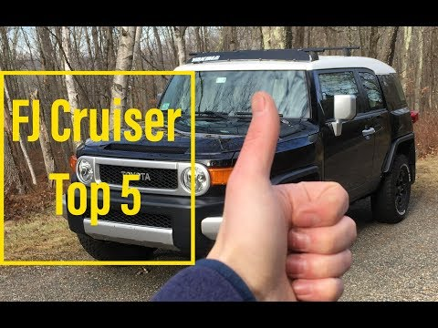5 Things I LOVE About the FJ CRUISER- This is Why I Bought an FJ